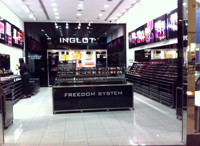 Spotted: Inglot Cosmetics