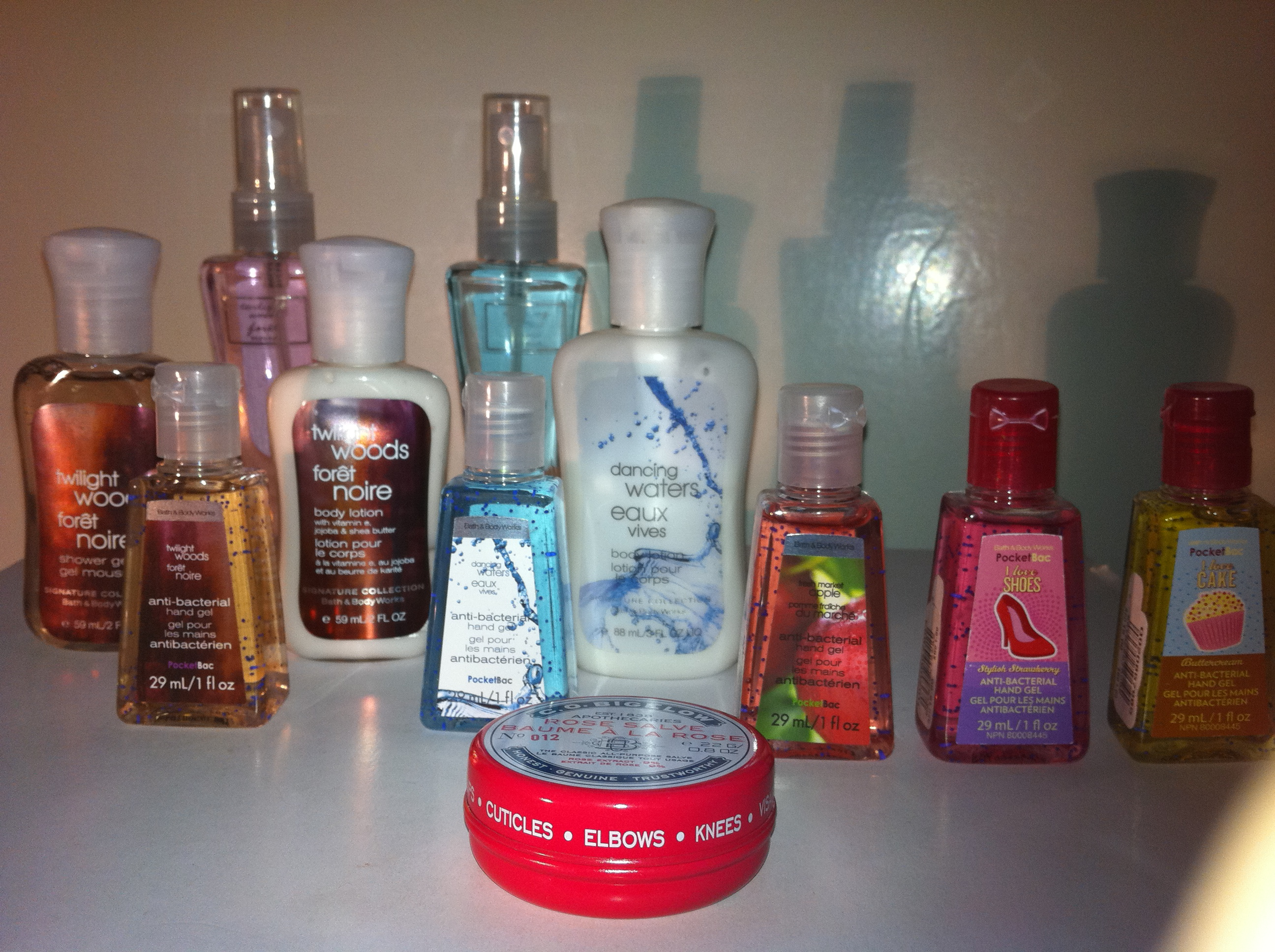 Haul bath and body works lulu 39 s makeup for Where are bath and body works products made