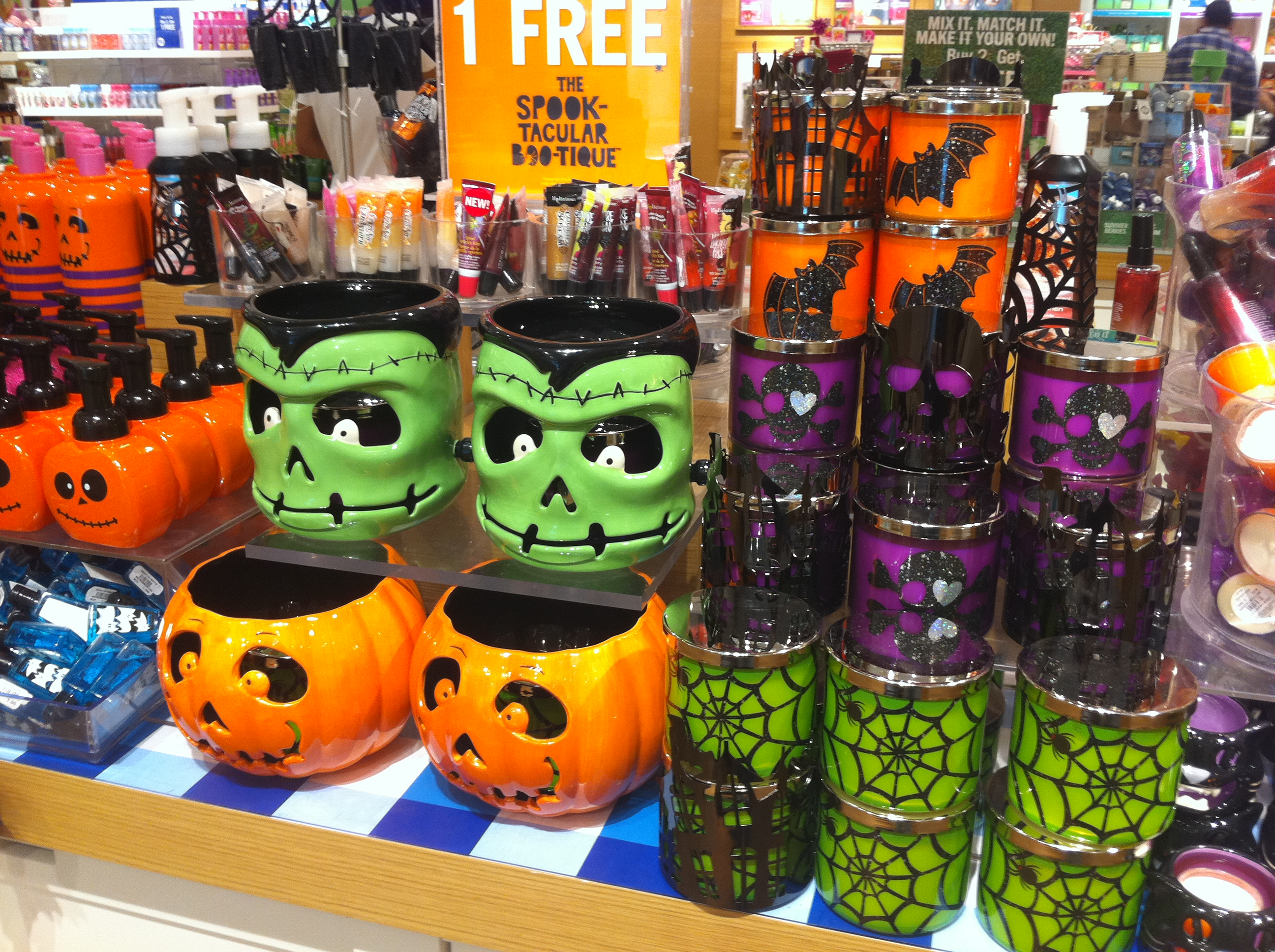 the only country in the world where a summer collection is released alongside a halloween collection