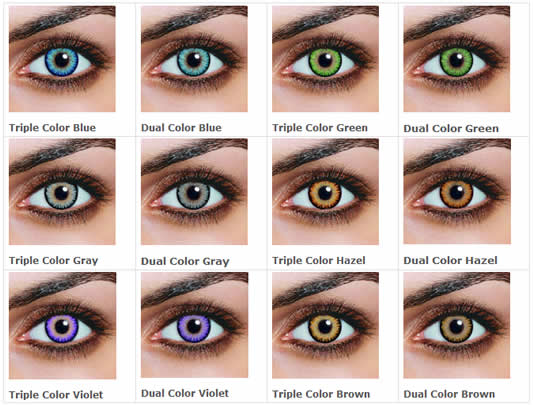 My Story Colored Contact Lenses Lulu S