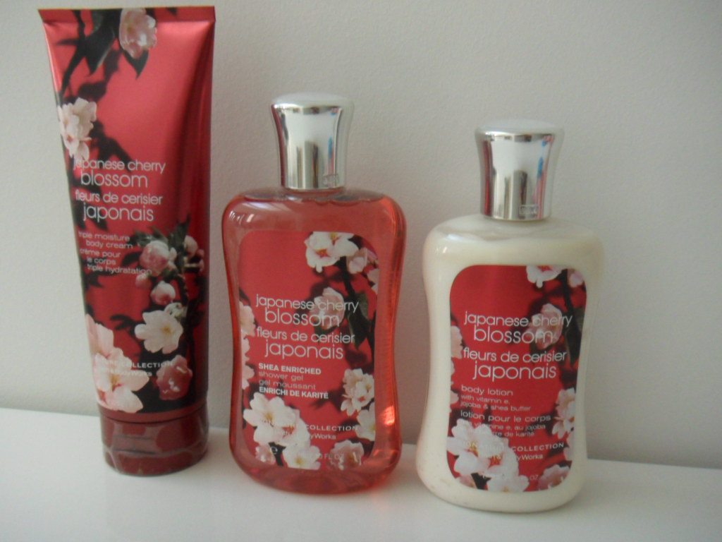 Bath And Body Works Japanese Cherry Blossom Collection