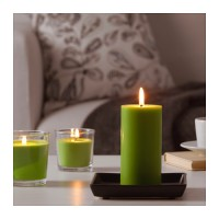 Ikea SINNLIG Green Apple Candle