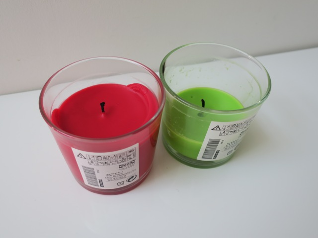 Ikea sinnlig candles lulu 39 s makeup for Ikea tea light battery