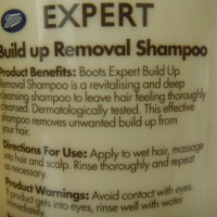 Boots Expert Build Up Removal Shampoo