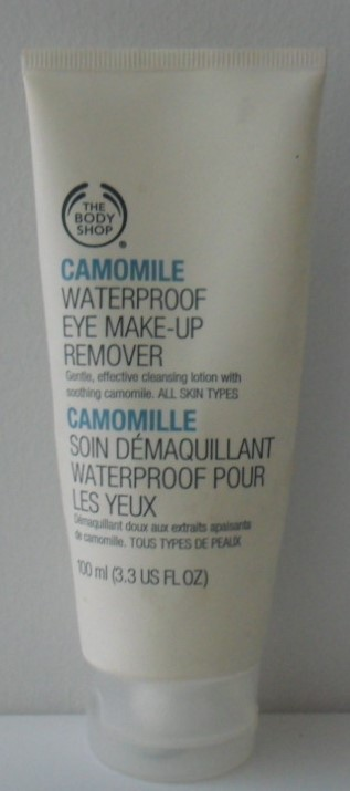 The Body Shop Camomile Waterproof Eye Make-Up Remover