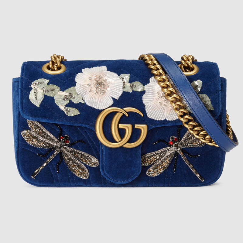 """That said, I despise frou-frou handbags (as shown above, Guccie Marmont)  because I find them ugly! Again, some might look at that and think  """"Beautiful! 806757c411"""