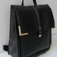 New Look Black Box Backpack