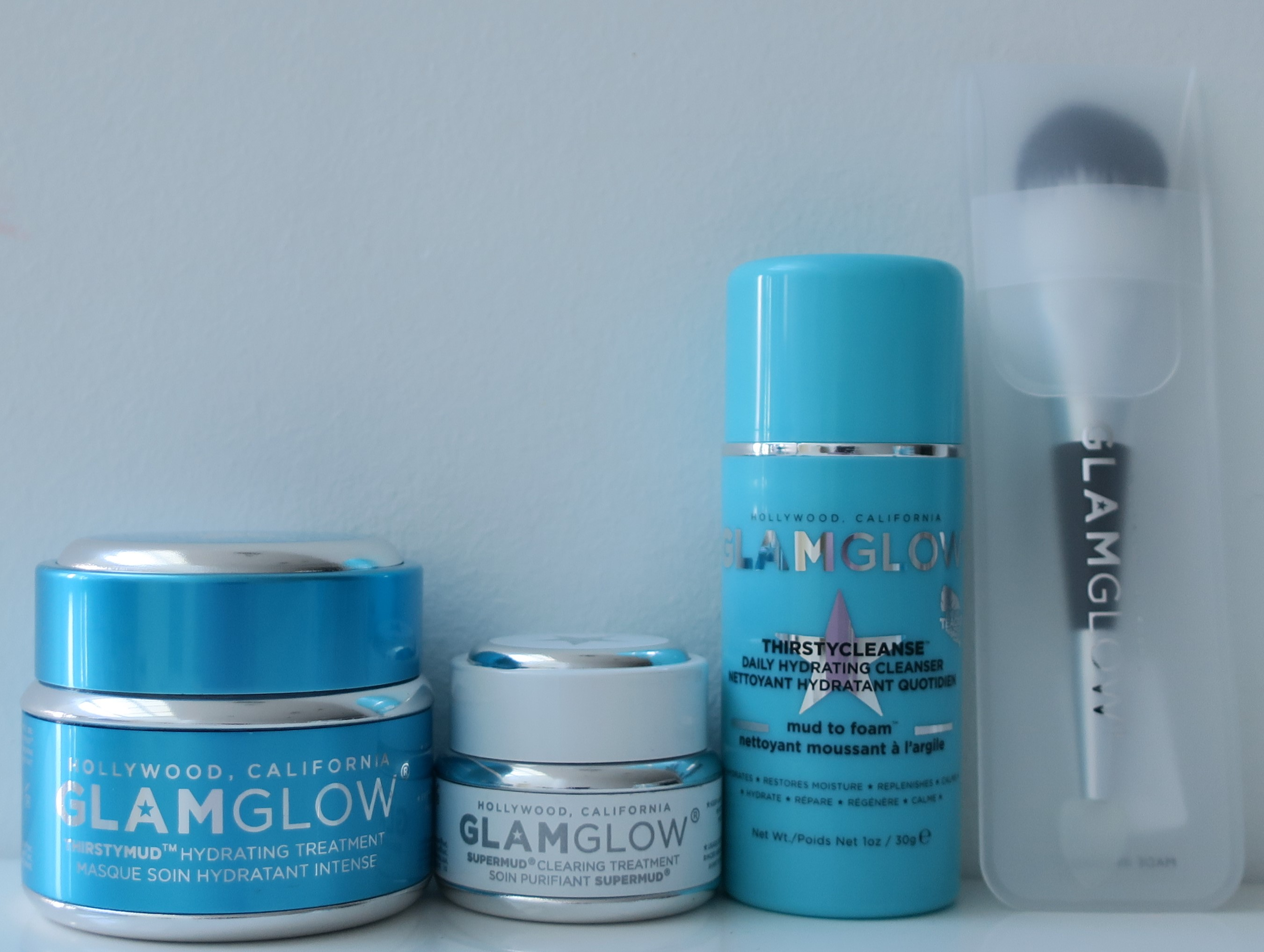 Glamglow Gift Sexy Dazzling Hydration Holiday Set Lulu S Makeup Travel Size Contains