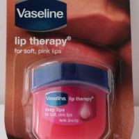 Vaseline Rosy Lips + Nivea Lemongrass & Oil Soap