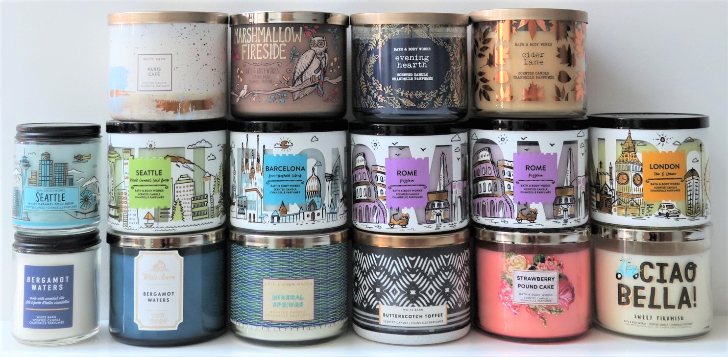 Bath And Body Works The Big Sale Candle Haul Lulu S